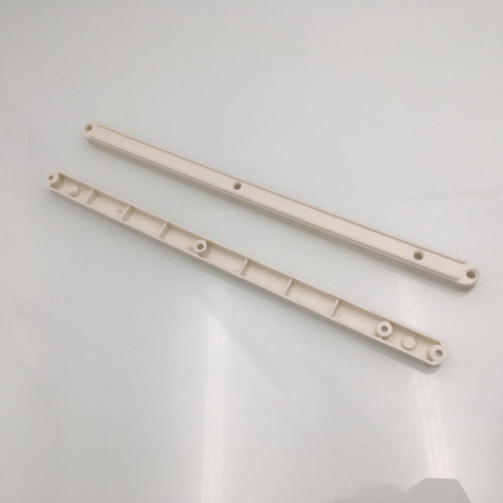 2pcs PLASTIC DRAWER RUNNERS SLIDES Track 295mm Two-section rail Guide rail slide sliding track Wardrobe Keyboard Accessories