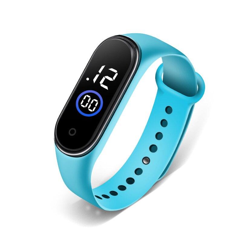 Цифровые детские часы, модные спортивные часы для мальчиков, светодиодные Аналоговые Цифровые Смарт-спортивные водонепроницаемые наручны...