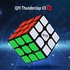Yeni QiYi MoFangGe Thunderclap V3 M 3x3 manyetik sihirli küp bulmaca küp profesyonel mıknatıslar hız Cubo Magico Thunderclap 3x3