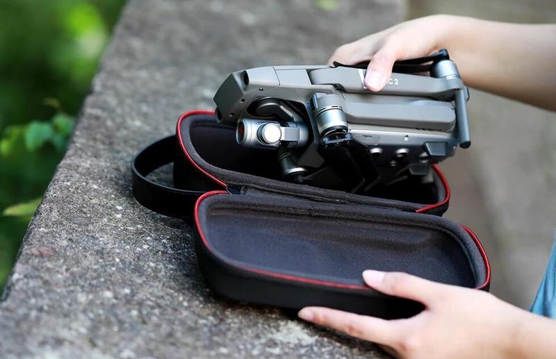 PGYTECH Mini caja de transporte caja portátil para DJI Mavic 2 Pro Zoom PA bolsa de almacenamiento resistente al agua para cámara Mavic 2 Drone