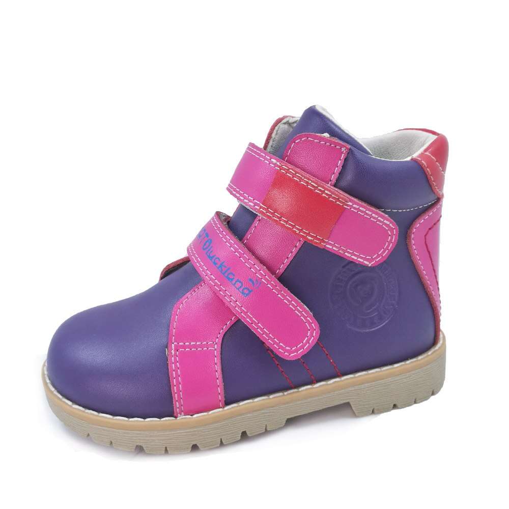 Kids Casual Shoes Children Martin Leather Boots Boys Girls Baby Toddler Autumn Spring Ankle Orthopedic Flatfoot Footwear boots tiflani 10924830 baby shoes footwear of boys and girls for kids