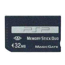 Promotion! 32 mo 64 mo 128 mo 256 mo 512 mo 1GB mémoire Stick Pro Duo carte mémoire pour PSP/appareil photo MS carte mémoire Stick Pro Duo adaptateur