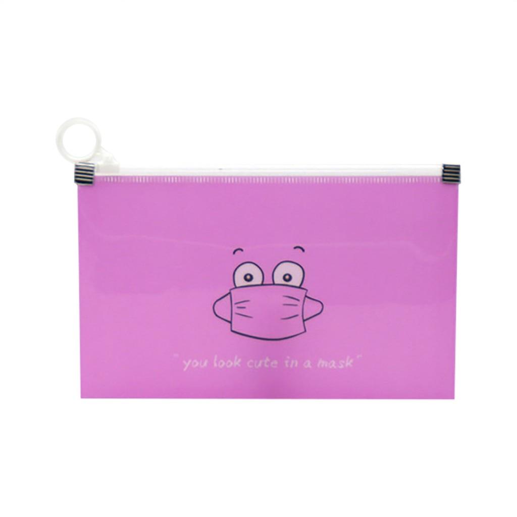 Kutia e mbulesës së maskës 1 copë në modelin e karikaturave, - Magazinimi dhe organizimi në shtëpi - Foto 5