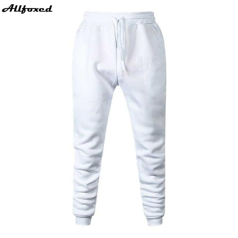 Штаны для бега мужские спортивные, тренировочные штаны для фитнеса, хлопковые спортивные штаны, облегающие брюки для бега