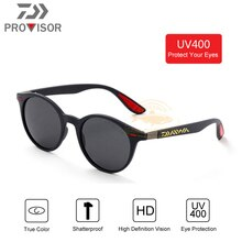2020 DAWA Men Frame Round Fishing Sun Glasses Driving goggles Fishing Sunglasses UV Protection Ultralight Polarized Sunglasses