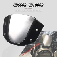 2021 for honda cb650r 2019 2020 cb 650r cb650r motorcycle accessories front screen lens windshield fairing windscreen deflector