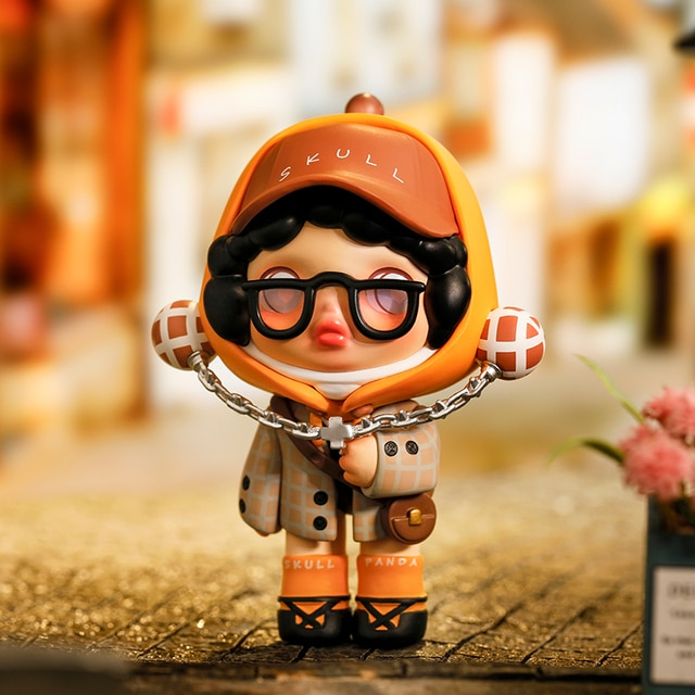POPMART Skullpanda Hypepanda Series Blind Box Doll Binary Action Toys Figure Birthday Gift Kid Toy 8