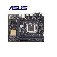 Placa base de escritorio Asus H81M-E R2.0, zócalo H81, LGA 1150, i3, i5, i7, DDR3, 16G, micro-atx, placa base Original usada gran oferta
