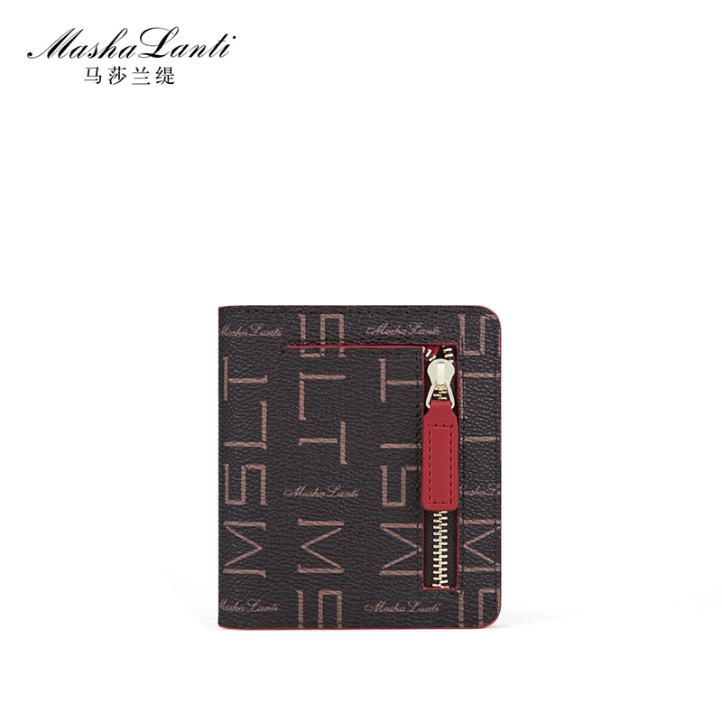 Mashalanti Brand design Fashion Wallet women Coin Purse Small Money Bag Credit Card Holder Wallets for Women contact s fashion genuine leather women wallet small standard wallets coin bag brand design lady purse card holders red brown