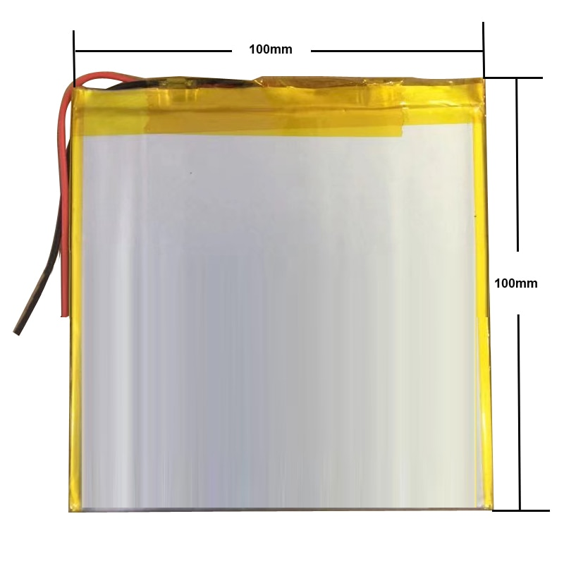 Get Universal Battery Pack for Chuwi Hi10 Pro CW1529 10.1″ Tablet Inner 35100100 5000mah 3.7V Polymer Li-Ion