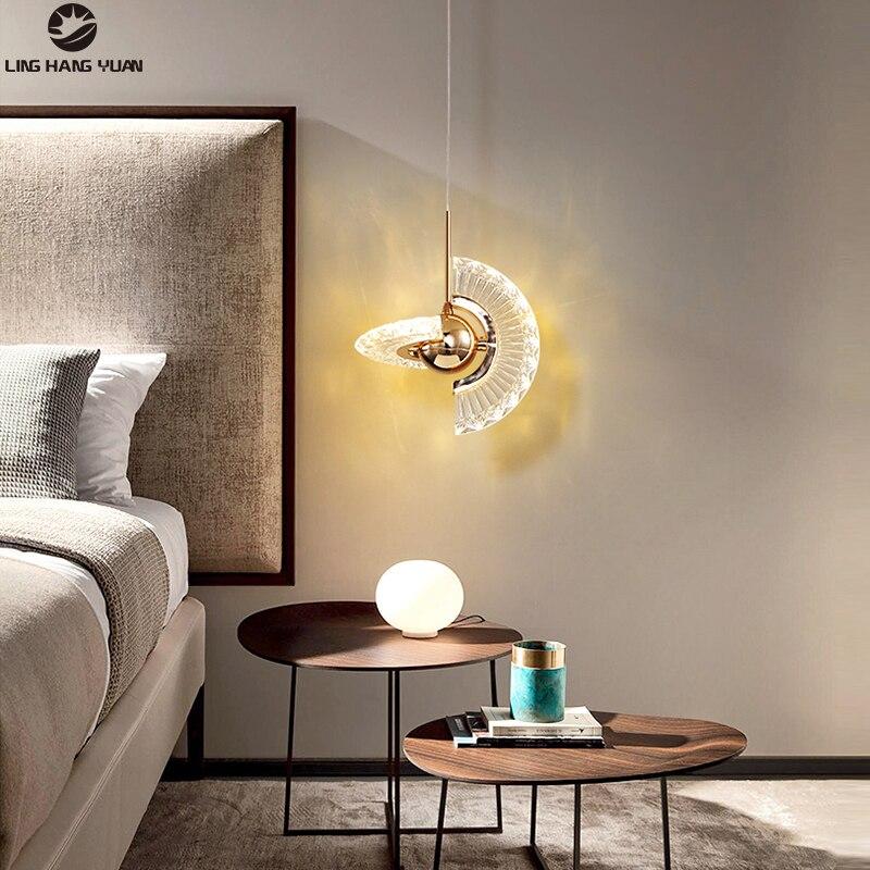 الحديثة Led الثريا 110 فولت 220 فولت المنزل ثريا تركب بالسقف الإضاءة لغرفة النوم غرفة المعيشة غرفة الطعام السرير ضوء مصباح معلق