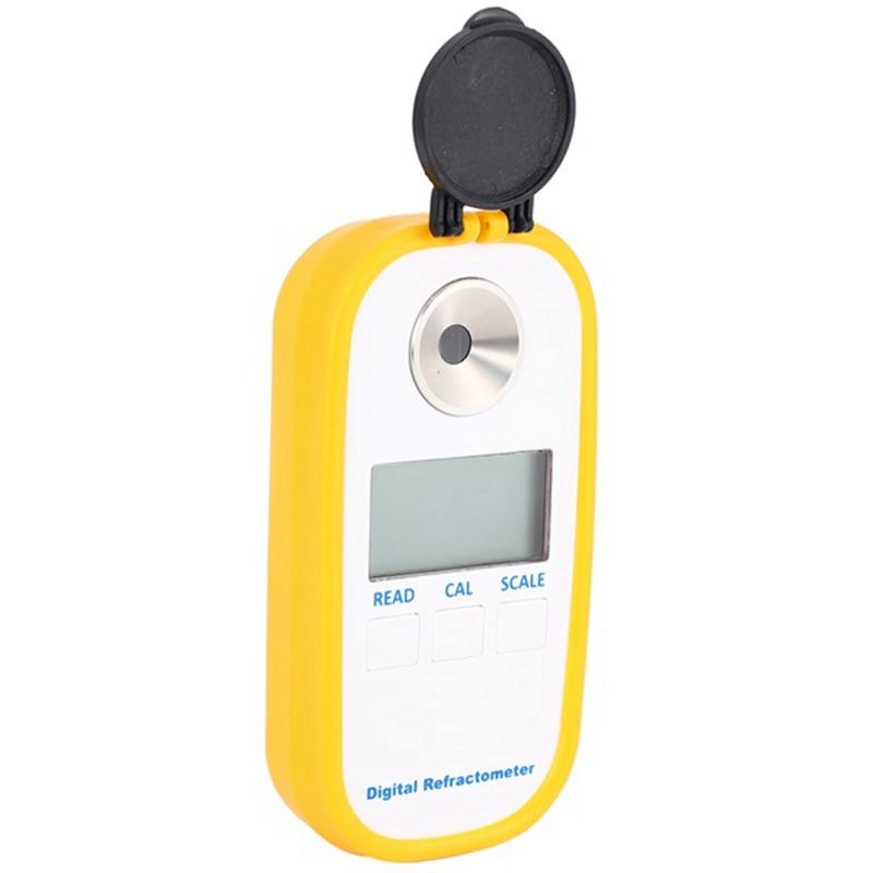 refratometro eletronico portatil de digitas do refratometro da concentracao do medidor