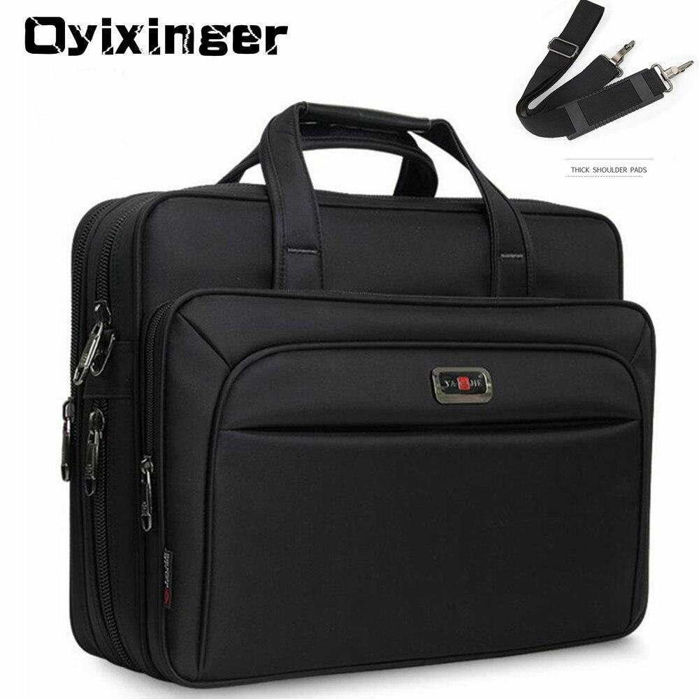 Large Capacity Men Single Shoulder Bag 14'' 15'' 16 Inches Travel Bag Men's casual fashion Handbags Business Briefcase Laptop Bag
