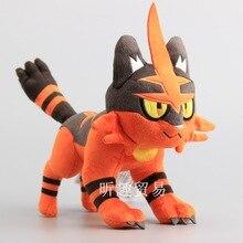 30CM Pokemon Pocket Monster SUN&MOON Anime Torracat Plush Toy Doll Soft Stuffed Animals Peluche Toys for Children Gift