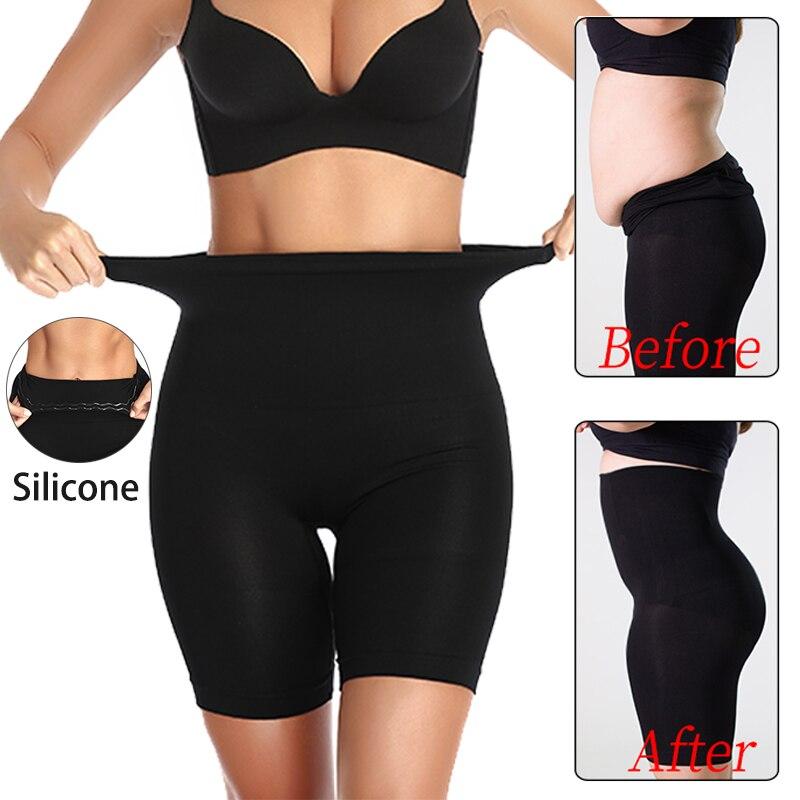Талия стройнее, формирователь, высокая талия, живот, контроль, трусики с силиконовым формирователем тела, женское облегающее формирователь, корсет размера плюс S-5XL
