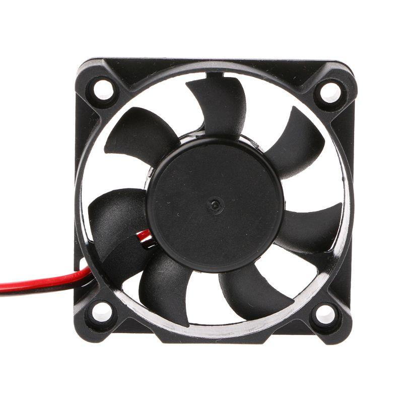 Mini 50mm x 50mm x 10mm DC 24V 2Pin refroidisseur sans brosse 7-lame ventilateur ventilateur de refroidissement 5010 95AD