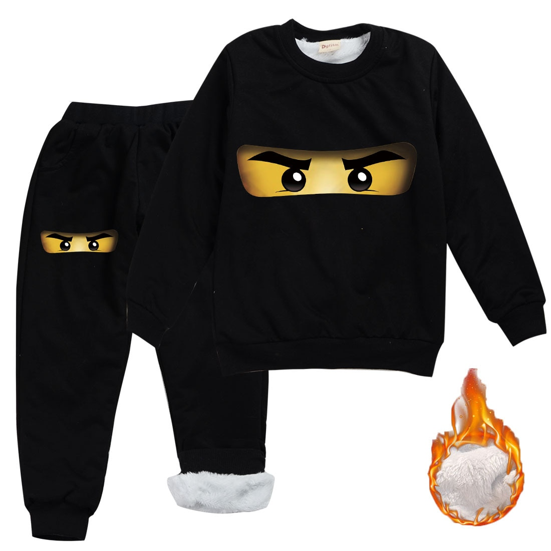 Z & Y 2-16Y 2020 hiver garçons vêtements ensembles enfants legos survêtements enfants Ninjagoed sweat + pantalon 2 pièces ensemble filles tenues