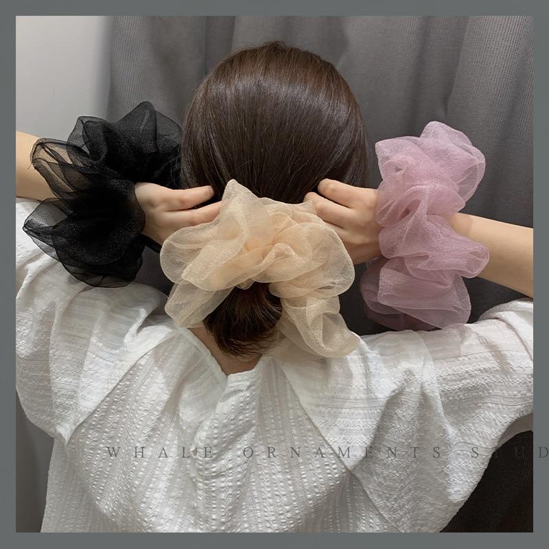 Однотонная-пряжа-с-кристаллами-волшебные-круглые-волосы-милые-резинки-для-прически-«конский-хвост»-Женская-резинка-для-волос-летняя-эла