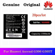 20 pcs/lot Batterie Dorigine HB5N1H Pour Huawei G300 G302D G305T G330 C8812 C8825D U8815 U8818 T8828 T8830 U8681 Bateria 1500mAh