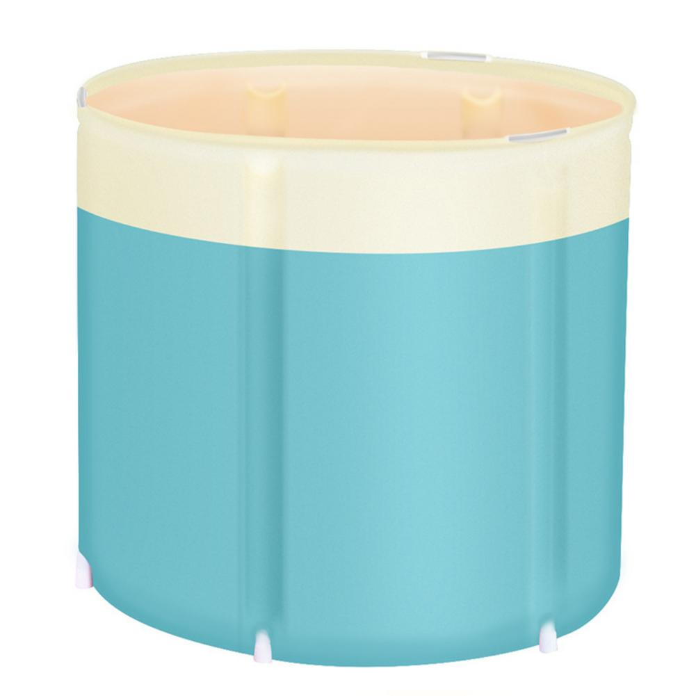 Bañera portátil, bañera de Spa plegable independiente, bañera para exteriores, casa de viaje # 4O