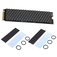Pure Copper Graphene Heatsink M.2 2280 PCI-E NVME SSD Thermal Pad Cooler