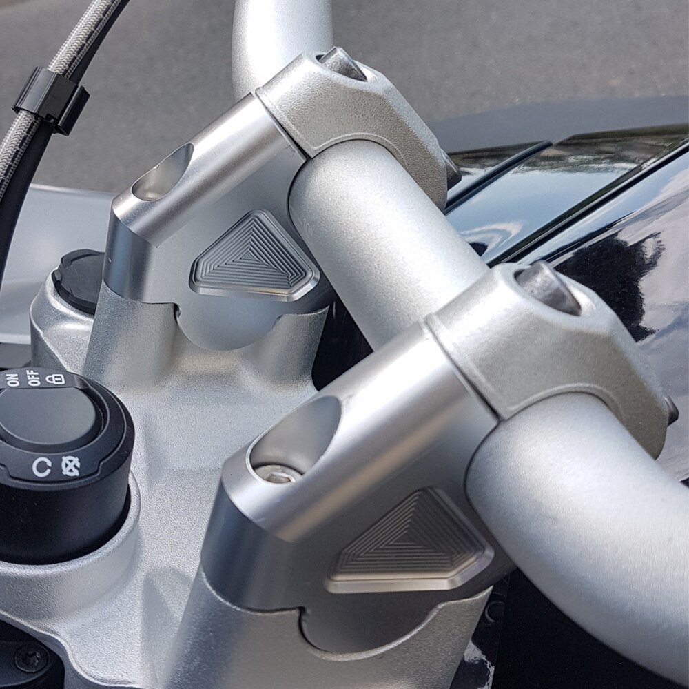 R1200gs LC/ADV 2011 Motorcycle Aluminum Handlebar Risers Adjustable Bar Clamp Riser Kit For BMW R1200GS LC/ADV 2011 - 2014