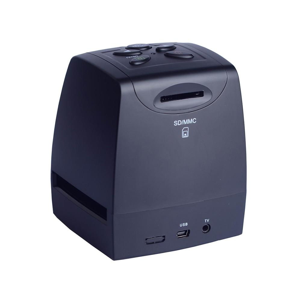 MINI 5MP 35mm 135mm Negative Film Scanner Negative Slide Photo film Converts USB Cable LCD Slide 2.4