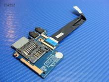 Original para HP 4440S 4540S Audio ProBook tarjeta SD lector Placa de puerto con Cable 683475-001 48.4SI02.011 trabajo perfecto
