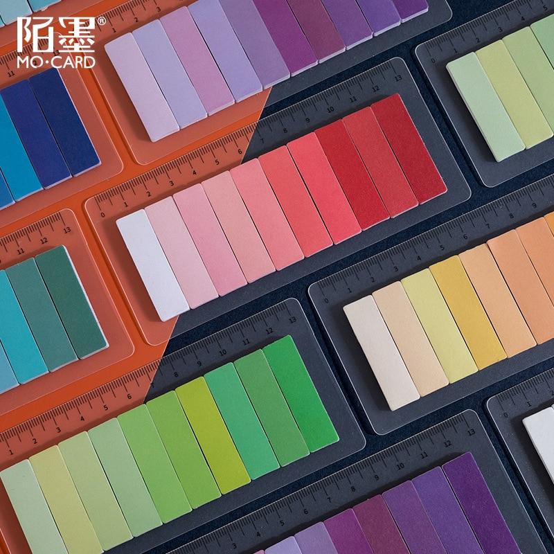 150 pezzi marcatori di pagine al Neon bandiere di pagine traslucide schede di indice fluorescenti schede di note appiccicose con misurazione di 13 Cm