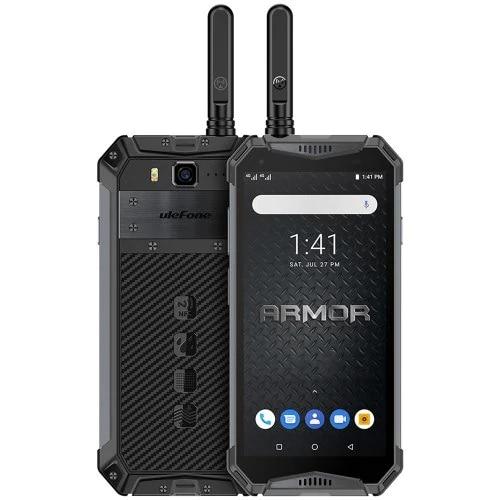 "Ulefone Armor 3WT Smartphone 6GB RAM 64GB ROM IP68 Waterproof 5.7"" Helio P70 Octa Core Android 9.0 10300mAh 21.0MP Mobile Phone"