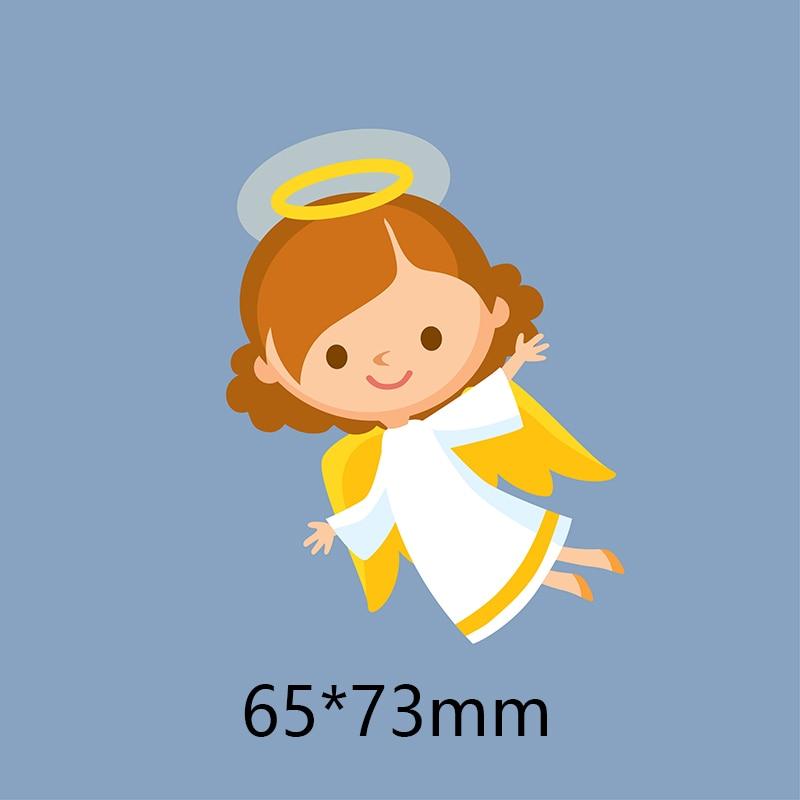 Baby angel Metal steel Frame Dies DIY scrapbooking álbum de fotos papel gofrado Cards8 * 8,5 CM