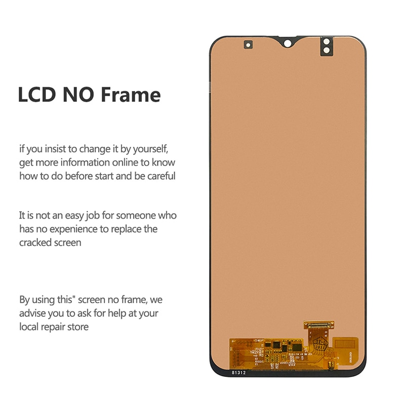 For Samsung Galaxy A50 LCD Display Touch Screen Digitizer Assembly On SM A505F A505 A 50 505F Sm-A505F 100% Test enlarge