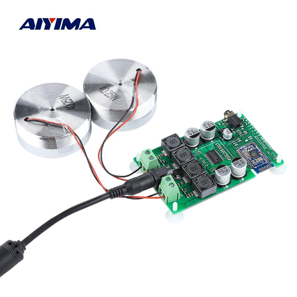 AIYIMA-Altavoz portátil de 2 pulgadas TPA3118 con Bluetooth 5,0, amplificador de sonido,...