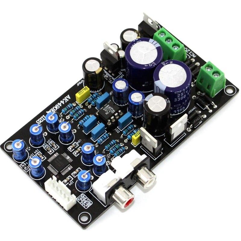 Ensamblado Ak4490Eq Ak4490 Ii2S Dac soporte 32Bit 768K placa decodificador Hifi G6-008