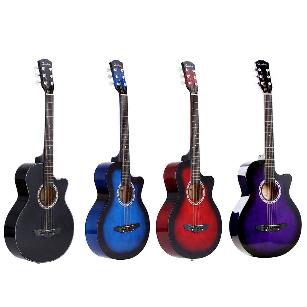 """38 """"Акустическая народная 6-струнная гитара для начинающих студентов подарок гитара Акустическая гитара гитарные аксессуары"""
