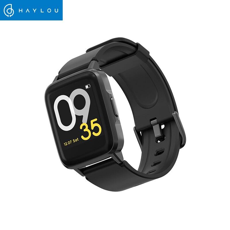 Haylou ls01 versão global 9 modos de esporte relógio inteligente ip68 à prova dip68 água gestão sono universal moda bluetooth banda inteligente