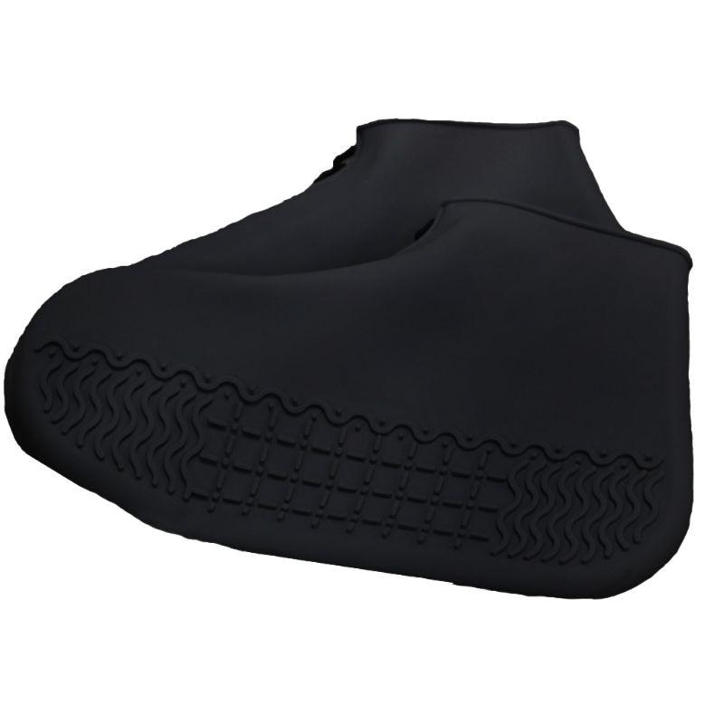 Botas de Chuva ao ar Zíper Livre Silicone Viagem Portátil Antiderrapante Sapato Capa Q1fe 1 Par
