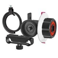 Follow Focus avec Anneau De Ceinture pour Canon et Dautres DSLR Caméra Caméscope DV Vidéo Correspond À 15mm Tige Cinéma Système