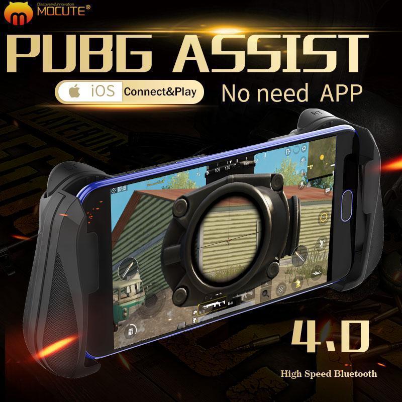 Mocute 057, controlador de Gamepad móvil, activador Pubg, Joystick para móvil, celular, Android, iPhone, consola de juegos, Control Pugb