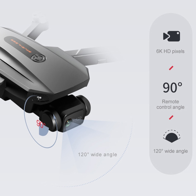 RG101 New GPS Drone 6K HD Professional Camera 5G WIFI FPV Dron Aerial Photography Brushless Motor Foldable Quadcopter Toys 1200M enlarge