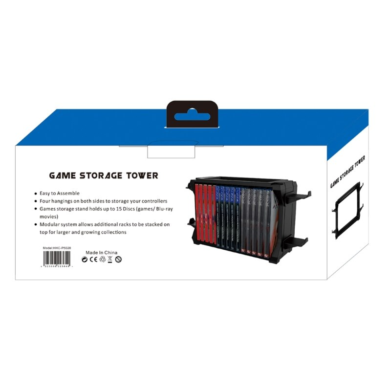 For Switch PS5 / PS4 / -XBOX S/X Series Disc Cuffie Rack di Archiviazione Suppor Q81F