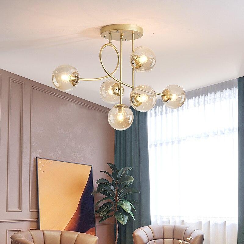 Luces de techo LED modernas para sala de estar, dormitorio, AC85-265V, modernas