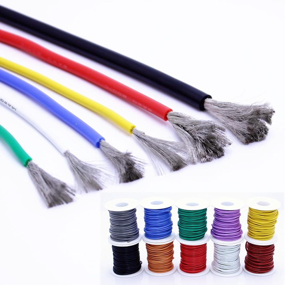 Envío gratis 10 metros de alta calidad de silicona de alambre y...