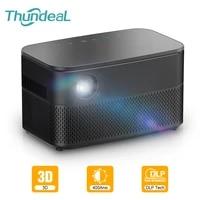 ThundeaL T616 reel actif 3D DLP projecteur Android WiFi Smartphone Mini projecteur Portable DLP LED Proyector Smart Home Cinema