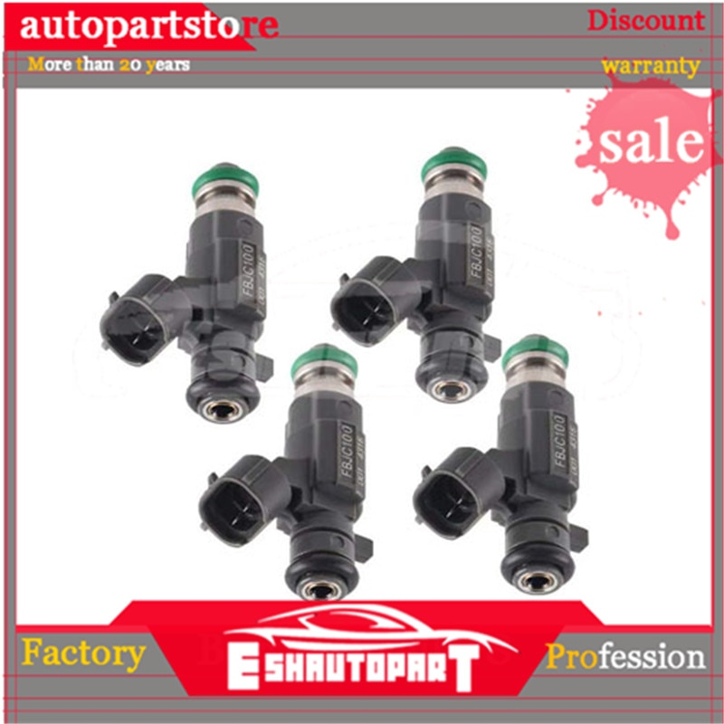 4 Uds inyector de combustible boquilla para Nissan X-Trail T30 T31 2,0 2,5 16600-2Y915 FBJC100 166002Y915