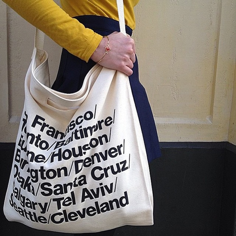 Ladies Hand Zipper Canvas Handbag Shoulder Women Messenger Tote Bags Female Bag Ladies Shopping Beach Fashion Crossbody Bags