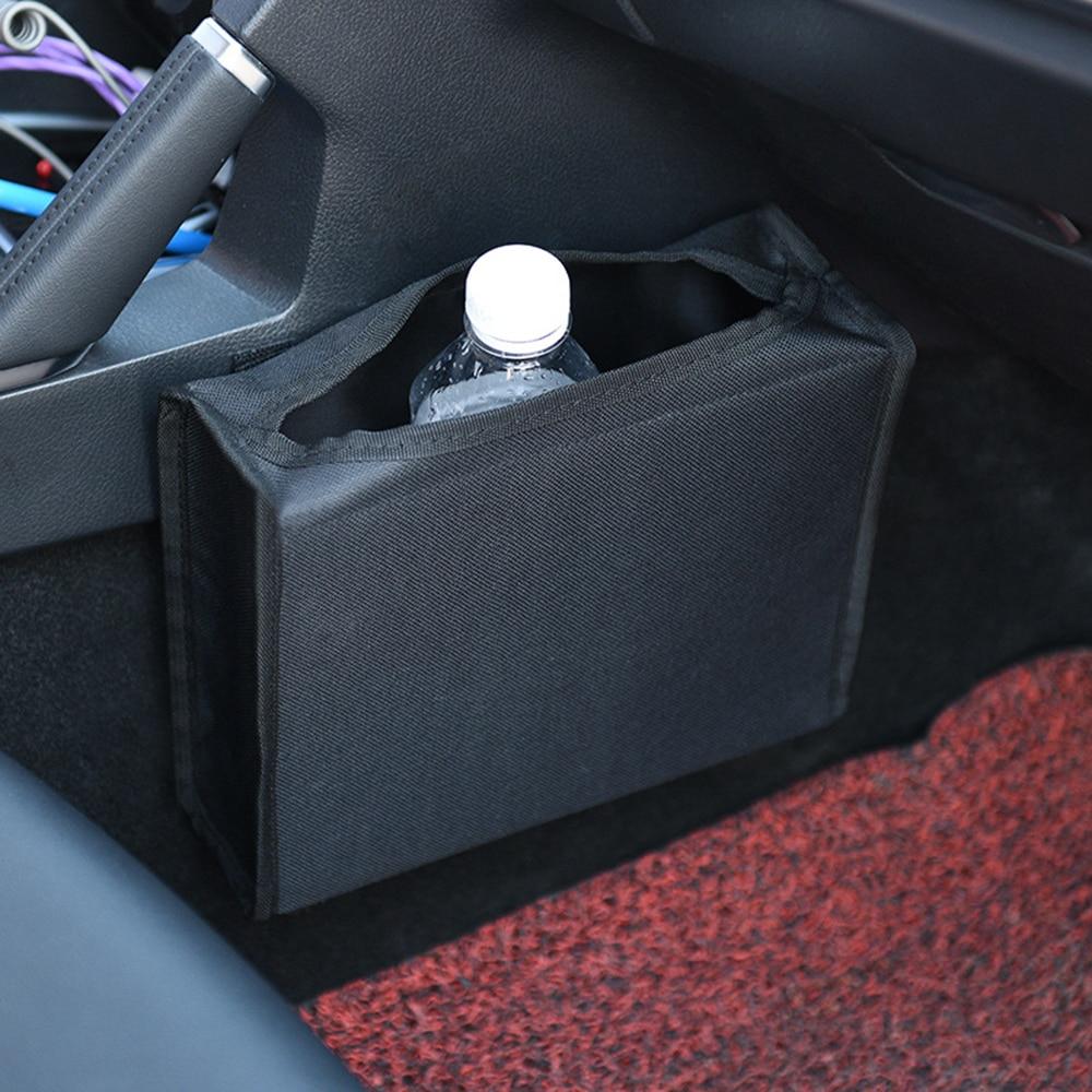 Multi-function Car Trash Portable Drive Bin Hanging storage box car garbage bag Barrel Car Wastebasket Back Seat Can Trash Can