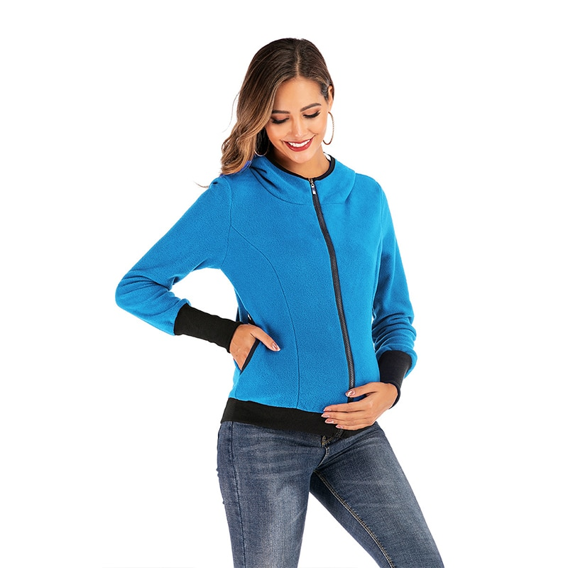 New Spring Pregnant Women Outerwear Coat Carrier Jacket Maternity Sweatshirt Women Nursing Hoodie Breastfeeding Hooded Sweater enlarge