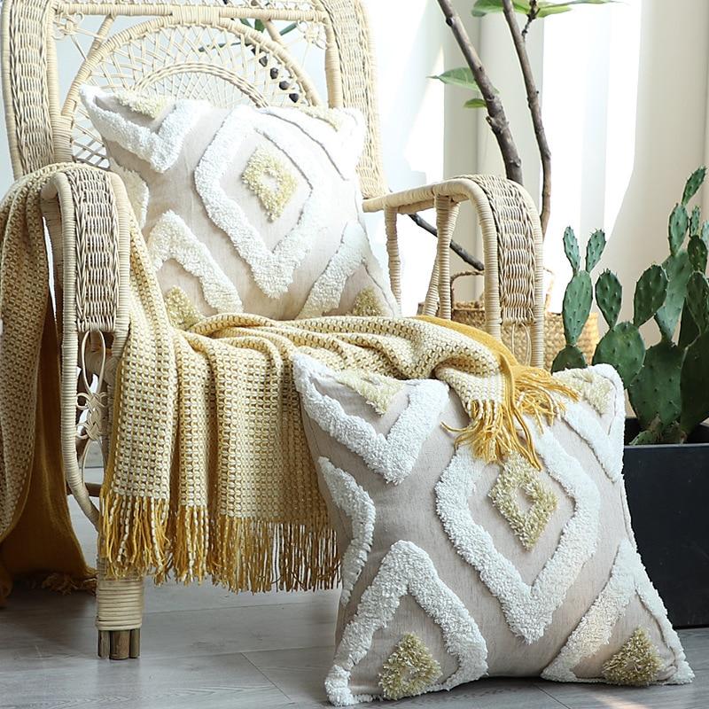 Morroccan نمط وسادة غطاء 45x4 5 سنتيمتر/30x50 سنتيمتر Plillow غطاء المنزل الديكور ديموند معنقدة ل أريكة السرير كرسي