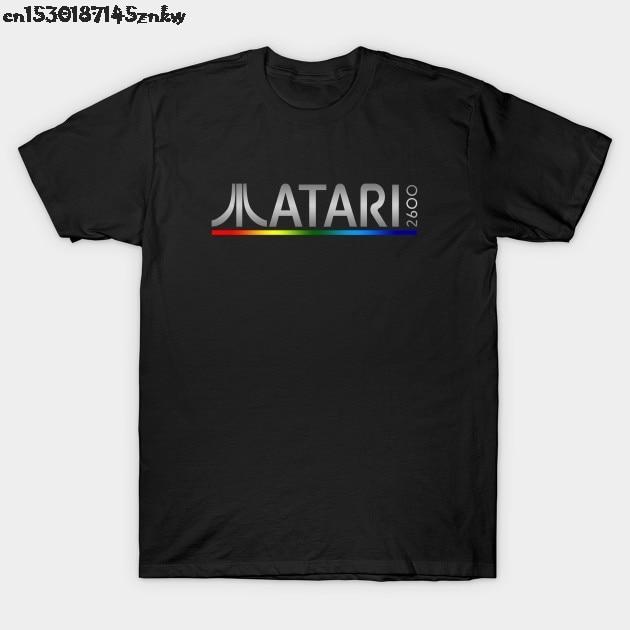 Camiseta de verano para hombre, camiseta Atari 2600 P